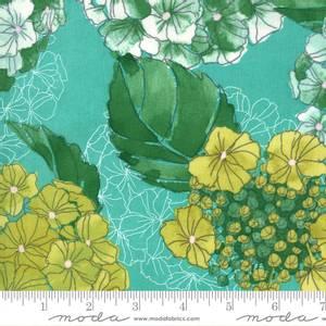 Bilde av Cottage bleu blomster