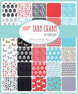 Bilde av Farm Charm Fat quarter pakke