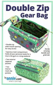 Bilde av Double zip gear bag