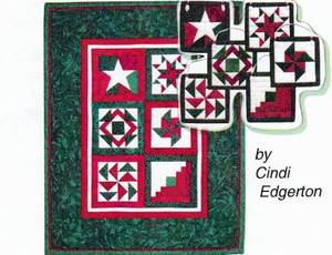 Bilde av Holiday Mini-Quilt and ornaments