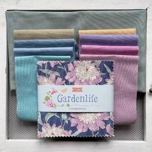 Bilde av Gardenlife charm pakke / chambray til flower