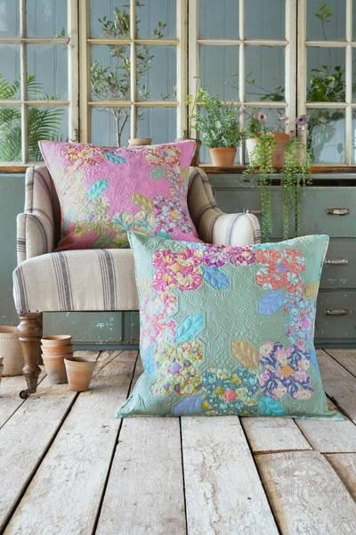 Gardenlife charm pakke / chambray til flower wreath pute