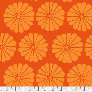 Bilde av Kaffe Fassett damask flower orange
