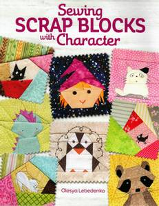 Bilde av Bok, Sewing scrap blocks with character