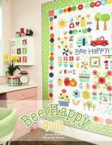 Bilde av Bok, Bee happy quilt