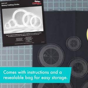 Bilde av Creative Grids non slip rotary cutting circles.