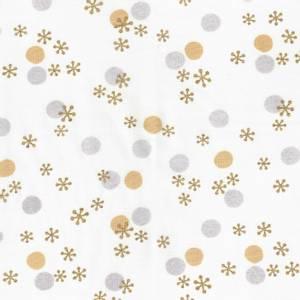 Bilde av Chill hvit med prikker og stjerner