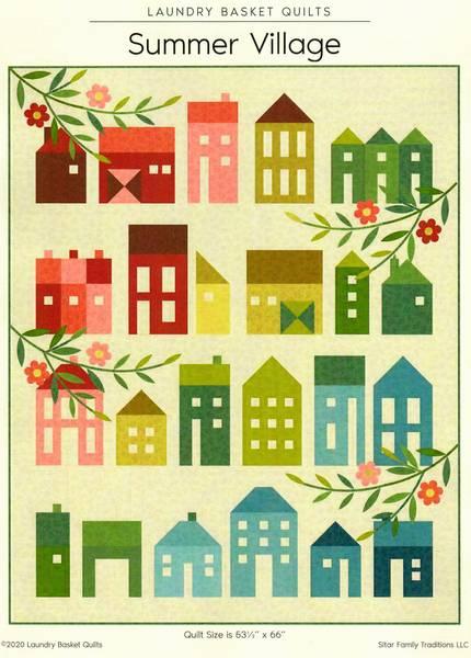 Summer Village quiltemønster