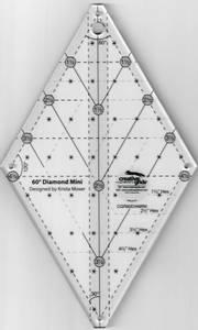 Bilde av Krista Moser 60degree diamond mini linjal