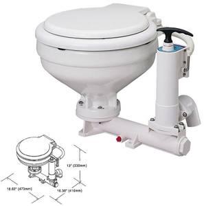Bilde av TMC toalett manuell