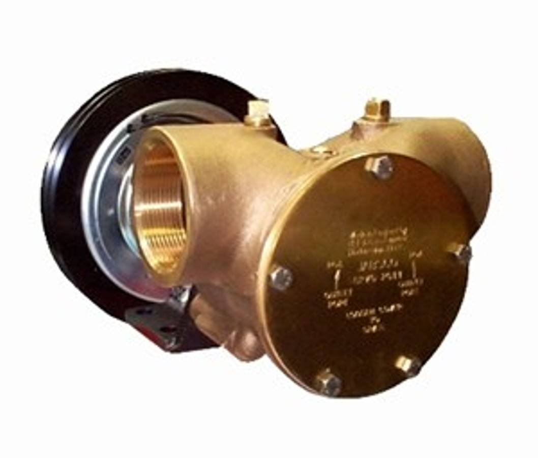 Jabsco clutch pumpe 2