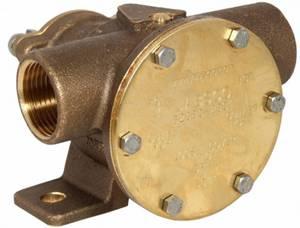 """Bilde av Jabsco fotmontert pumpe 1"""" BSP 52080-2001"""