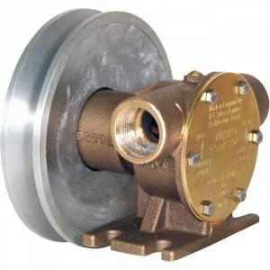 """Bilde av Jabsco fotmontert pumpe 3/4"""" BSP 52040-2001 Inkl Remskive."""
