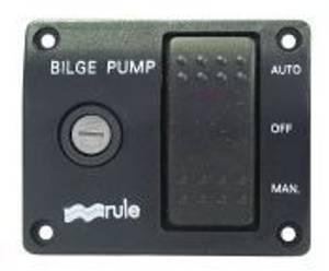 Bilde av Rule/Jabsco bryterpanel for lensepumper