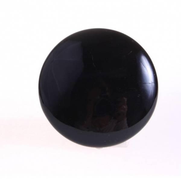 Knagg, rund svart