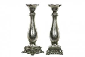 Bilde av Lysestake Ava antikk sølv H: 30,5cm