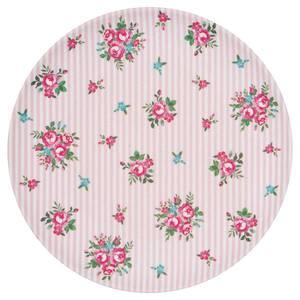 Bilde av GreenGate bambustallerken Plate Constance white