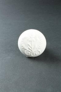 Bilde av Knotter hvit med monogram