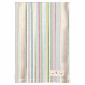 Bilde av Koppehåndkle Tea towel Pipa soft stripe