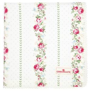 Bilde av GreenGate napkin with lace Gabby white
