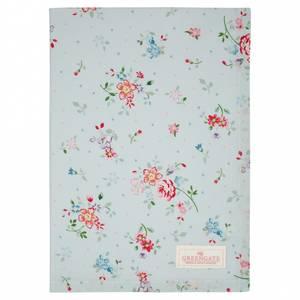 Bilde av GreenGate Tea towel Belle pale blue