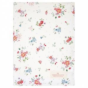 Bilde av GreenGate Tea towel Belle white