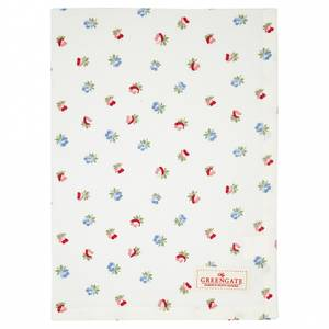 Bilde av GreenGate Tea towel Viola white