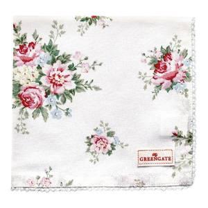Bilde av GreenGate napkin with lace Aurelia white