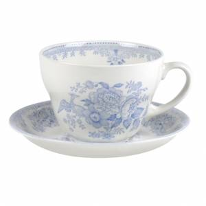 Bilde av Blue Asiatic Pheasant Breakfast Cup & Saucer 420