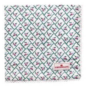 Bilde av GreenGate napkin with lace Rita green
