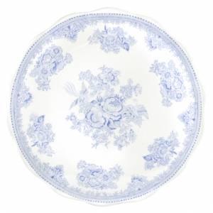 Bilde av Blue Asiatic Pheasant Cake Plate 28cm