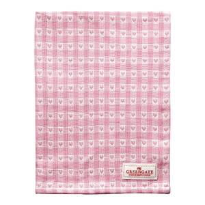 Bilde av Koppehåndkle Heart petit pale pink