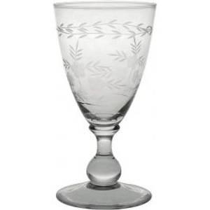 Bilde av Greengate vinglass, wine glass with cutting clear