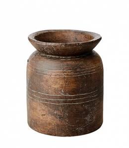 Bilde av Terrakotta krukke, brun, antikkbehandlet
