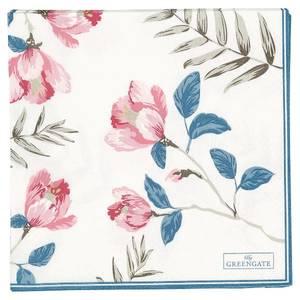 Bilde av Papirserviett Magnolia white large