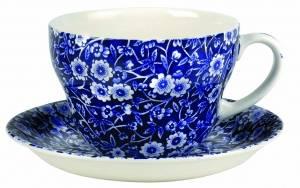 Bilde av Blue Calico Breakfast cup and saucer 420ml