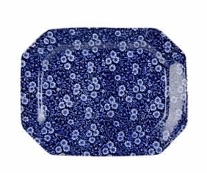 Bilde av Blue Calico rectangulare dish small 25cm