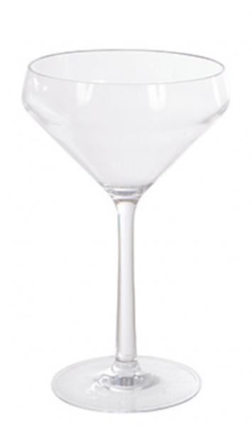 Picnic martiniglass/cocktailglass i plast H:18