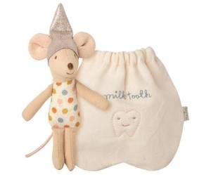 Bilde av Maileg tanne-mus i stoffpose