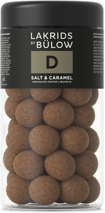 Bilde av D - SALT & CARAMEL CHOCOLATE COATED LIQUORICE