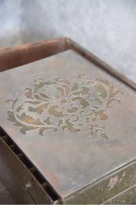 Bilde av Malesjablong / stencil - Filigran motif 1