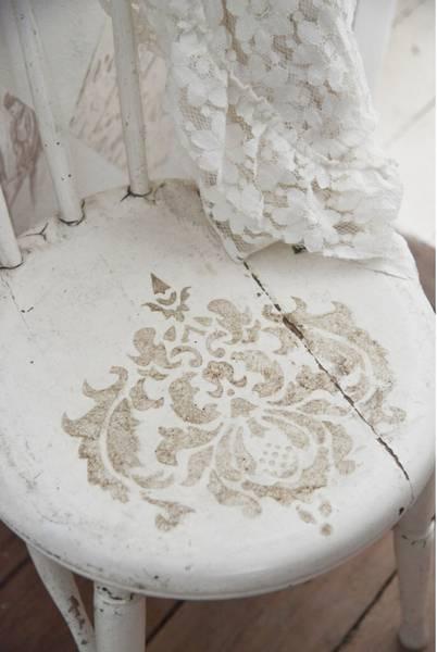 Malesjablong / stencil - Filigran motif 1