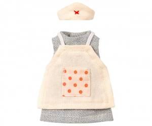 Bilde av Maileg klær til mus, Nurse clothes for mouse