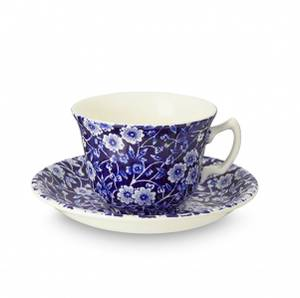 Bilde av blue calico Teacup & Saucer 187ml
