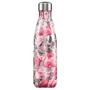 Bilde av Chilly's bottles  Tropical edition flamingo 500ml