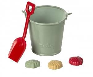 Bilde av Maileg beach set - shovel, backet & shells