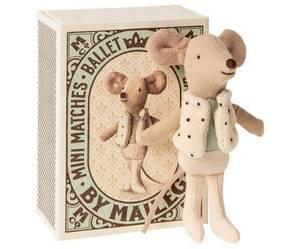 Bilde av Maileg dancer mouse / dansemus i boks, lillebror