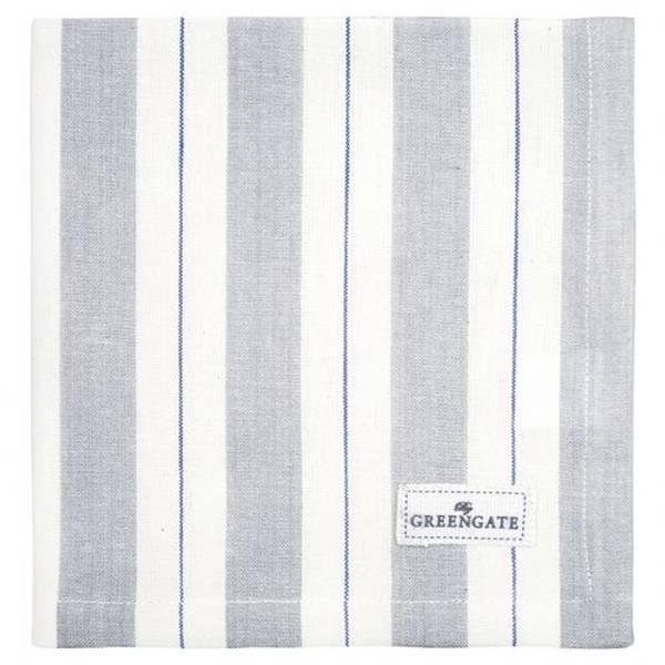 GreenGate napkin / brikke Elinor pale grey