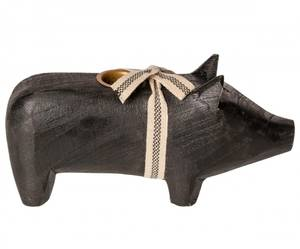 Bilde av Maileg lysestake gris, medium sort