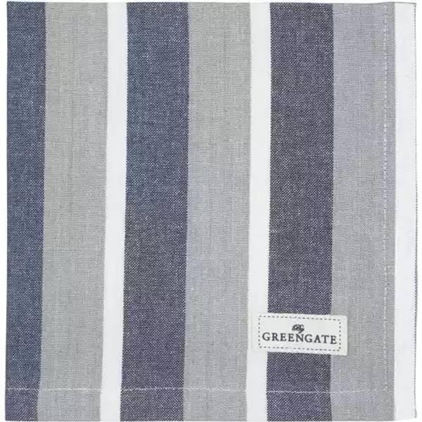 GreenGate napkin / brikke Alyssa blue